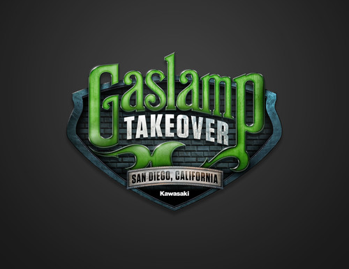 "Kawasaki's ""Gaslamp Takeover,"" a downtown area street closure set for Saturday evening, Sept. 7 in ..."