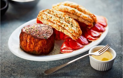 This Father's Day treat Dad to a sizzling fillet and lobster tail at Ruth's Chris Steak House.