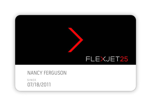 To provide even more ways to personalize private jet travel options, the Flexjet 25 Jet Card program -- operated by U.S. air carrier Jet Solutions -- now has a new debit option. Created for those with varied travel requirements, the Flexjet 25 Jet Card program's debit option gives customers access to as many private jet flight hours as they need -- along with an unlimited travel calendar -- onboard high-performance Learjet or Challenger aircraft.  (PRNewsFoto/Flexjet)