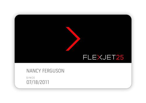 Flexible New Debit Card Option from the Flexjet 25 Jet Card Program
