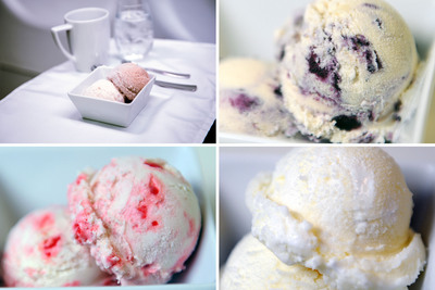 Virgin America Flyers to Vote on Custom Ice Cream Flavor designed by Humphry Slocombe. (PRNewsFoto/Virgin America) (PRNewsFoto/VIRGIN AMERICA)