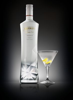 New and exclusive to travellers - Smirnoff White.