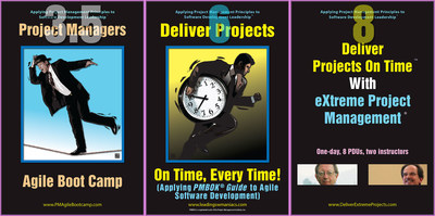 Three classroom workshops from Leading Software Maniacs (PRNewsFoto/Leading Software Maniacs, LLC)