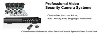 Discount Wholesale Security Camera Systems from China! (PRNewsFoto/ineSun) (PRNewsFoto/INESUN)