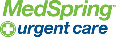 MedSpring Urgent Care logo.