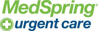 MedSpring Urgent Care logo.