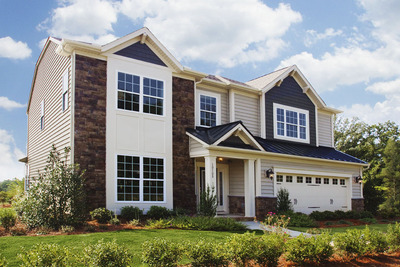 M/I Homes of Charlotte is opening a new neighborhood. Brookvue, in Concord, N.C., will have about 250 homes. Prices are expected to start in the mid $200s. Buyers can choose from about 20 home plans, ranging from roughly 2,000 to more than 3,500 square feet. Many of the plans feature large kitchens with walk-in pantries, downstairs guest suites, generous family rooms, and expansive windows. Exteriors include front porches and covered lanais. Join the VIP list at www.mihomes.com/info to learn more.  (PRNewsFoto/M/I Homes of Charlotte)