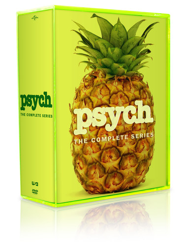 From Universal Studios Home Entertainment: Psych: The Complete Series (PRNewsFoto/Universal Studios Home ...