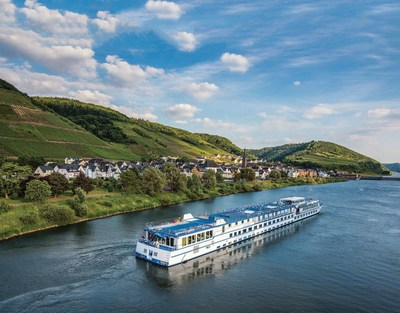 Grand Circle Cruise Line's River Melody sails along the Moselle Valley, passing picturesque villages and towns along the way.