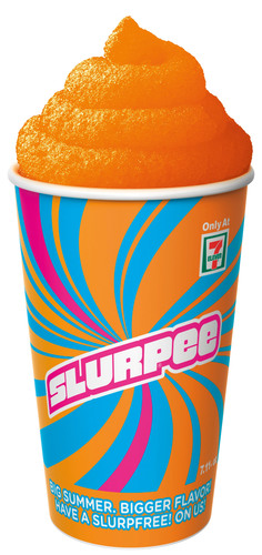 7-Eleven gives away free Slurpees from 11 a.m. to 7 p.m. on May 23rd.  (PRNewsFoto/7-Eleven, Inc.)