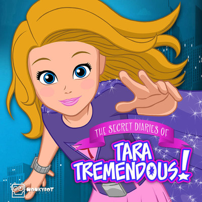 Ranked #1 in iTunes Kids & Family Podcasts, 'The Secret Diaries of Tara Tremendous' is a musical superhero adventure series about an 11-year-old girl who accidentally receives the powers of all the superheroes in the world. Targeted for kids 6+ (and their parents or guardians), the series is now airing its second season of episodes, which can be heard on iTunes and also at the production company's website Wonkybot.com. The series was created by children's television writer/composer Stewart St John (Mighty Morphin Power Rangers, Disney's Seventeen Again, and more.)