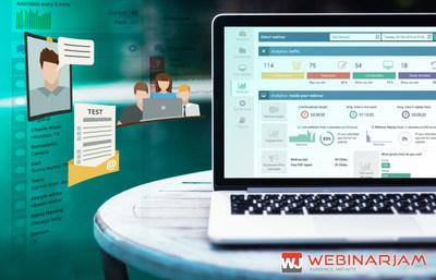WebinarJam's Analytics Shows Real Time Webinar Data