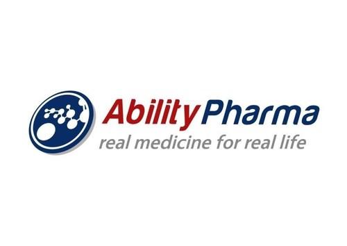 AbilityPharma Logo (PRNewsFoto/Ability Pharmaceuticals SL)