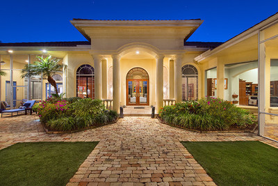 This golf course estate was sold by Platinum Luxury Auctions on April 10, 2015. The property is located in Wellington, Florida, and the sale created the highest price thus far in 2015 within the private residential enclave. More at WellingtonLuxuryAuction.com.