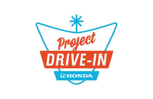 Honda's Project Drive-In Increases Support of Threatened Theaters: Delivery of Digital Projectors Raised to Nine.  (PRNewsFoto/American Honda Motor Co., Inc.)