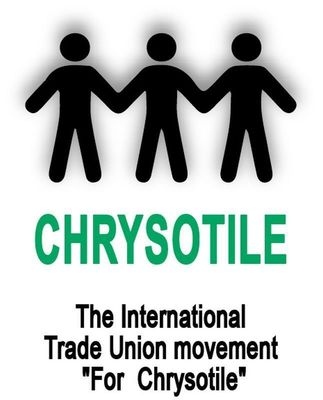 """International Trade Unions Movement """"For Chrysotile"""" Logo (PRNewsFoto/ITU Movement """"For Chrysotile"""")"""