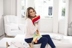 Rachel Stevens is supporting the Dettol Baby Blanket Donation