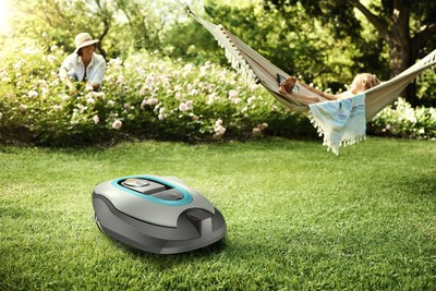 "Gardena smart system uses Lemonbeat. Gardena, known for innovative gardening tools and watering systems, plans to introduce the first robot lawnmowers that ""speak"" Lemonbeat onto the market next year. (PRNewsFoto/RWE Effizienz GmbH) (PRNewsFoto/RWE Effizienz GmbH)"