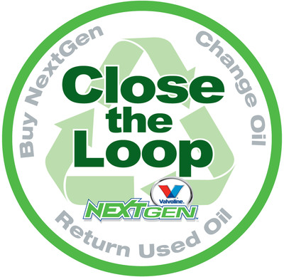 Visit NextGen.Valvoline.com to learn how to Close the Loop with Valvoline NextGen