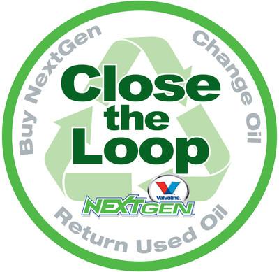 Visit NextGen.Valvoline.com to learn how to Close the Loop with Valvoline NextGen