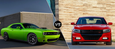 Briggs Chrysler takes legendary muscle cars head-to-head (PRNewsFoto/Briggs Chrysler)