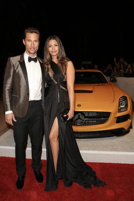 Mercedes-Benz Arrivals at 25th Annual Palm Springs International Film Festival Awards Gala.  (PRNewsFoto/Mercedes-Benz USA)