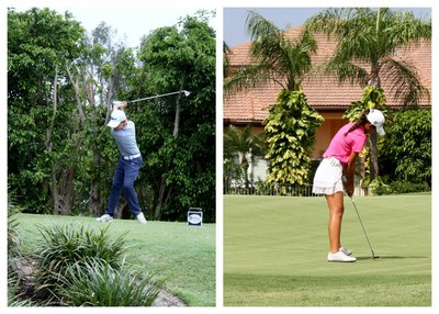 Brett Roberts and Valerie Pacheco - South Florida Junior PGA Championship Overall Champions