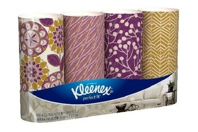 Kleenex(R) Perfect Fit* Facial Tissues Named 2016 Product of the Year