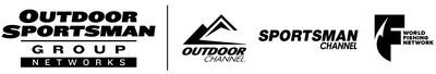 Outdoor Sportsman Group Networks, Outdoor Channel, Sportsman Channel, World Fishing Network Logos.