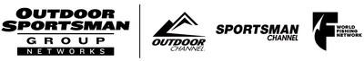 Outdoor Sportsman Group Networks, Outdoor Channel, Sportsman Channel, World Fishing Network Logos.