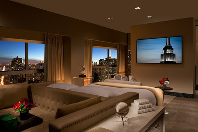 Presidential Suite Bedroom Millennium Hotels And Resorts
