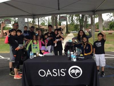OASIS Medical Inc. Team at Blind Children's Learning Center Destination-Independence 5K Walk in Santa Ana, CA