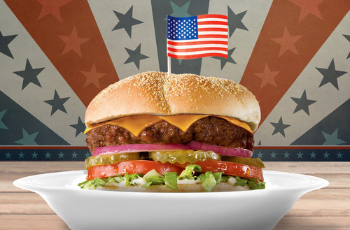 Shoney's(R) Offers FREE All-American Burger(TM) to All Veterans and Troops on Veterans Day.  (PRNewsFoto/Shoney's)