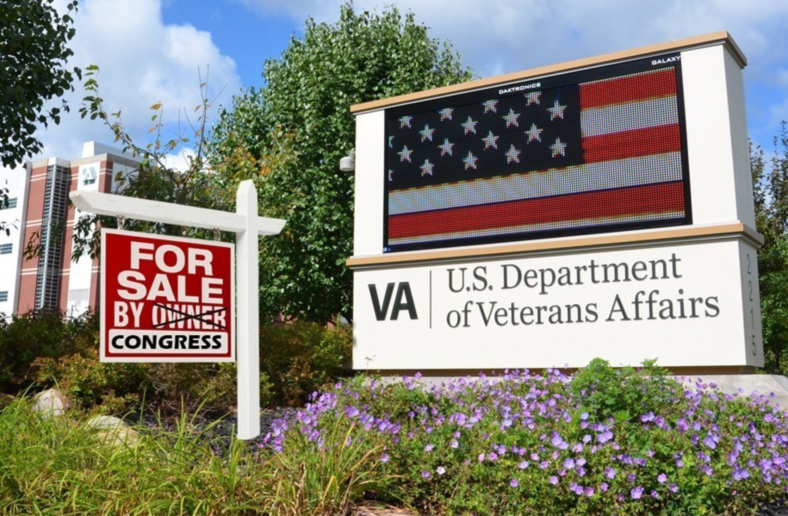Veterans' health care is on the verge of being sold to the lowest bidder.