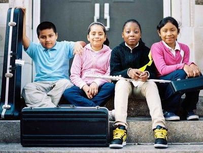 Livingston School Portrait (PRNewsFoto/NAMM Foundation)