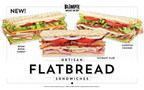 Blimpie debuts bold new flatbread menu additions!