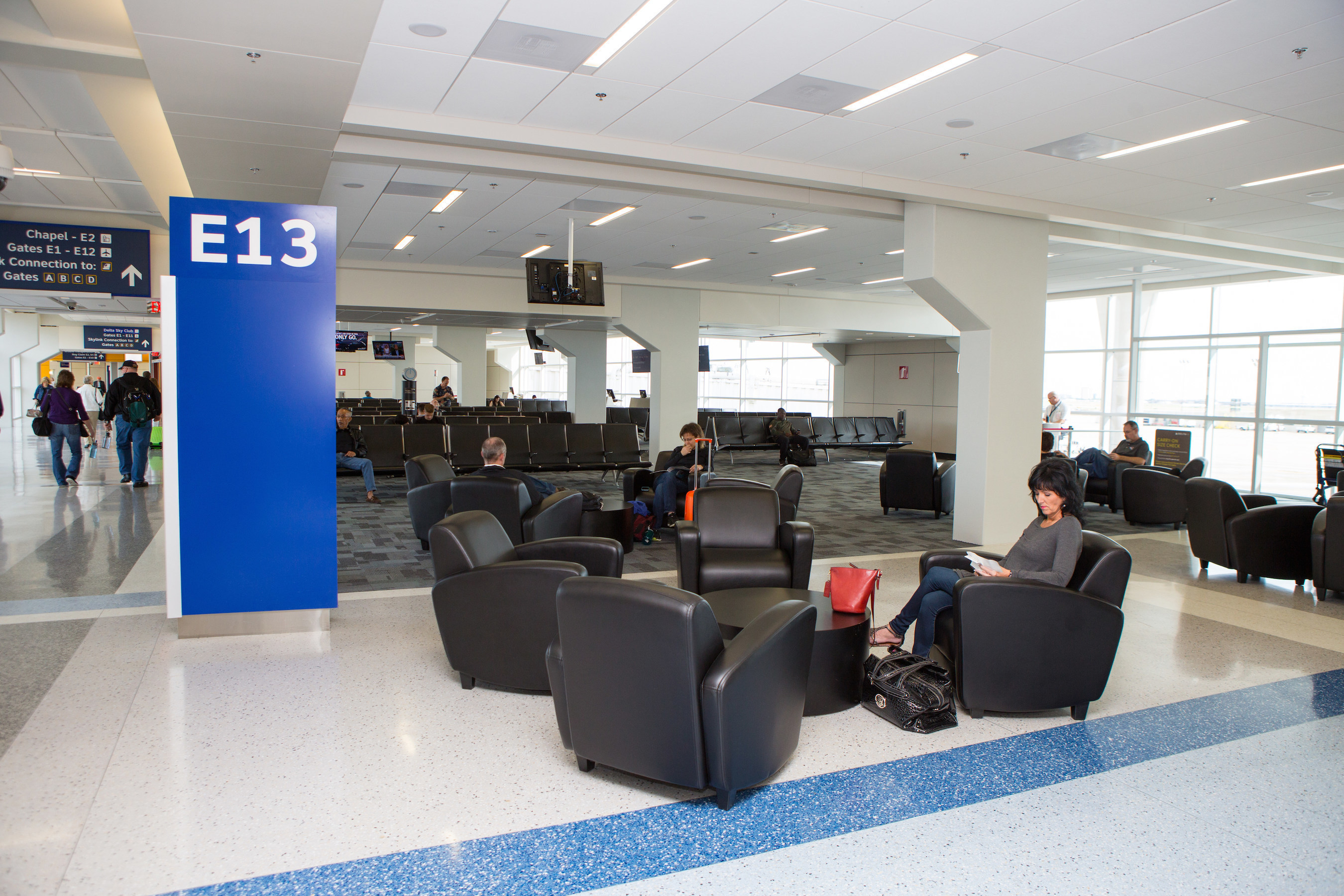 Dallas Fort Worth International Airport Opens Renovated