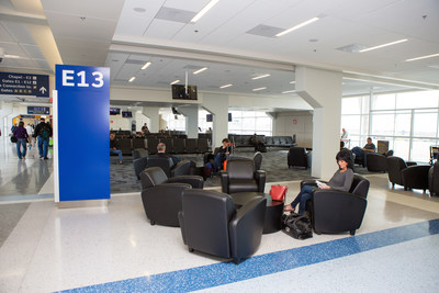 Dallas Fort Worth International Airport opens a newly renovated section of Terminal E, including six new gates and new restaurants and shops.