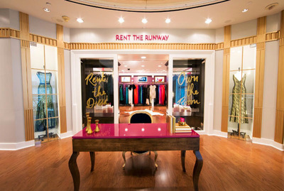 Rent the Runway to Unveil First Showroom Location in Partnership With Henri Bendel.  (PRNewsFoto/Rent the Runway)