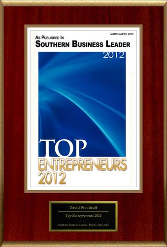 David Woodruff Selected For 'Top Entrepreneurs 2012'