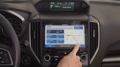 The Magellan Navi navigation iOS and Android apps for connected cars bring Magellan's proven smartphone navigation to Subaru vehicles by connecting to the SUBARU STARLINK platform (PRNewsFoto/Magellan)