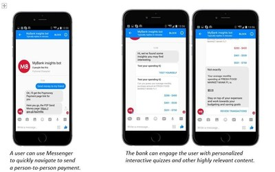 Personetics Anywhere™ enables bank customers to get up-to-date information and personalized guidance via Facebook Messenger and other messaging apps