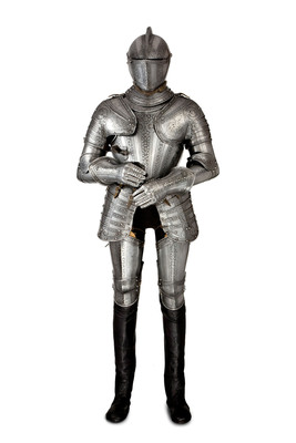 Peter Finer. A full suit of armor. Northern Italy, c. 1580. (PRNewsFoto/Winter Antiques Show) (PRNewsFoto/WINTER ANTIQUES SHOW)