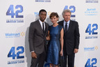 "Marriott Rewards on the Red Carpet with Stars from Movie ""42""; Film About Baseball Legend, Jackie Robinson, In Theaters Now. (PRNewsFoto/Marriott Rewards, Joe Klamer, Getty Images)"