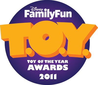 The editors at Disney FamilyFun magazine today announced their 20th annual Toy of the Year (T.O.Y.) Award winners.  (PRNewsFoto/Disney FamilyFun)