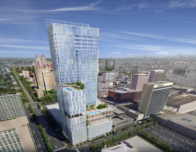 A luxury residential and hotel tower will be built adjacent to The Galleria in Houston