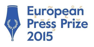 European Press Prize 2015 (PRNewsFoto/European Press Prize)