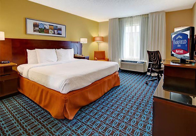 The Fairfield Inn & Suites Memphis/Southaven invites you to be among the first to benefit from a major renovation that modernizes the Southaven hotel and makes it more inviting and cozy to travelers with new color schemes, an innovative design and unique offerings. Thoughtfully designed rooms feature separate living, sleeping and working areas. For information, visit www.marriott.com/MEMSH or call 1-662-349-6640.  (PRNewsFoto/Fairfield Inn & Suites Memphis/Southaven)