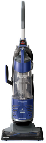 The BISSELL PowerGlide Vacuum with Lift-Off Technology offers 2 vacuums in 1 with no loss of suction for a ...