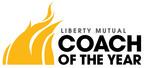 Coach of the Year logo.  (PRNewsFoto/Liberty Mutual Insurance)